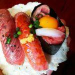高山 食べ歩き  Part2(甘酒・飛騨牛にぎり寿司)