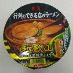 日清食品 行列のできる店のラーメン 和歌山旨み特濃豚骨しょうゆ