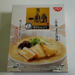 日清食品 一風堂 白丸元味 博多とんこつ 箱型