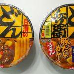 日清食品 どん兵衛 カレーうどん(東仕様)東西食べ比べ!